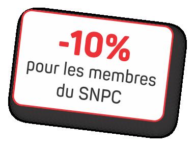 10% pour les membres