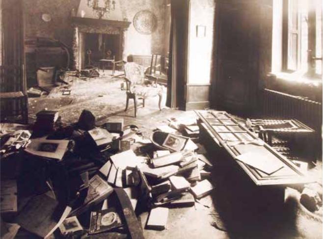 4.3. Dégâts consécutifs à un acte de sabotage et au pillage d'une maison à Morlanwelz les 10-11 mai 1945